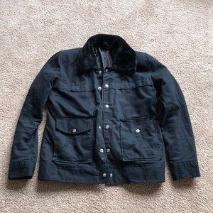 Other - Black Cotton Fur Collar Zac Efron Jacket